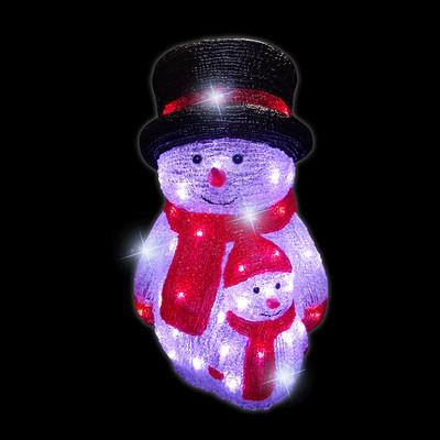 luca lighting Декоративная фигурка Luca Lighting Снеговик (8718861124507)