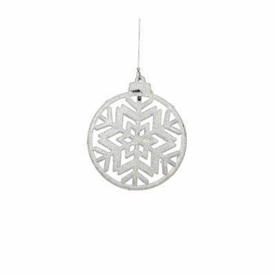 christmas house Украшение декоративное Christmas House Снежинка симметричная белая (8718861346732)