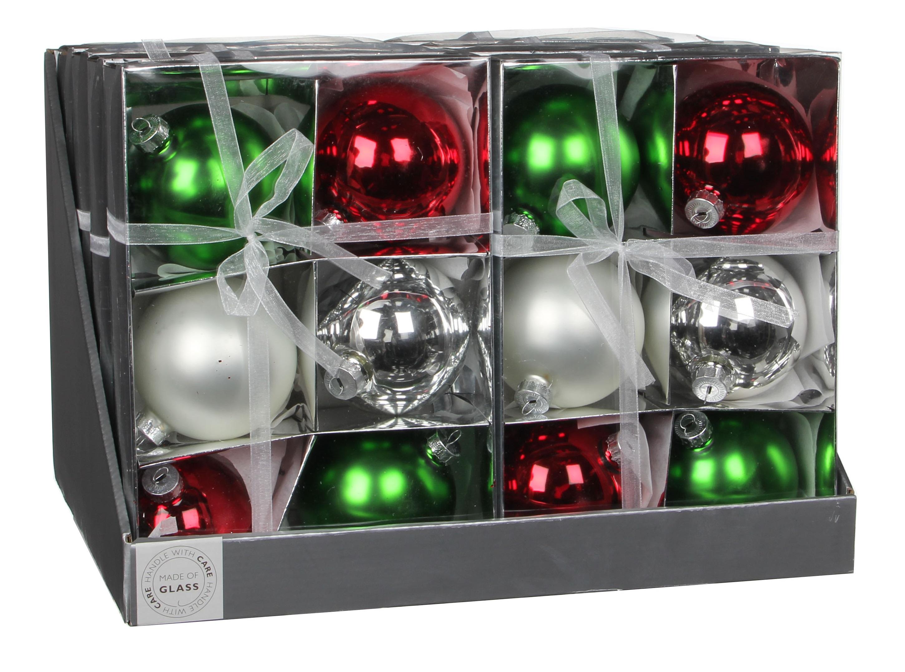 christmas house Елочные шарики Christmas House комплект 6 шт (1013771)