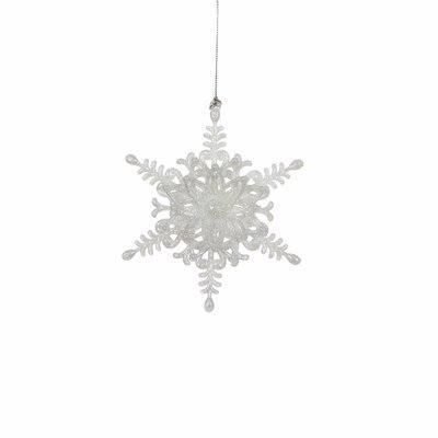 christmas house Украшение декоративное Christmas House Звезда шестиугольная белая (8718861347234)