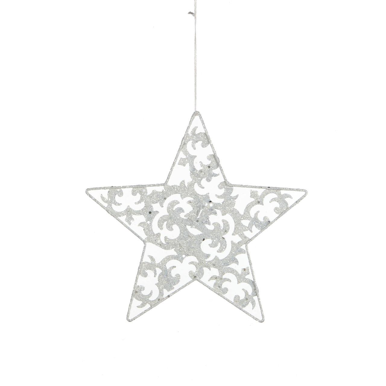 christmas house Украшение декоративное Christmas House Звезда белая (8718861139532)