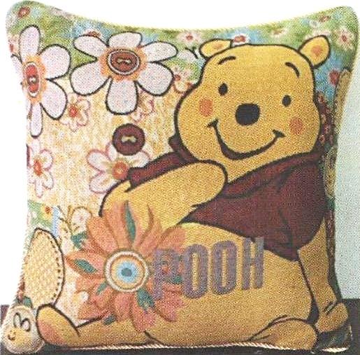 arya Наволочка Arya 45х45 см 2 шт Winnie Pooh Цветочный (1451030) 3000000081211