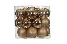 house of seasons Елочные шарики House of Seasons комплект 24 шт шампань (1028659)
