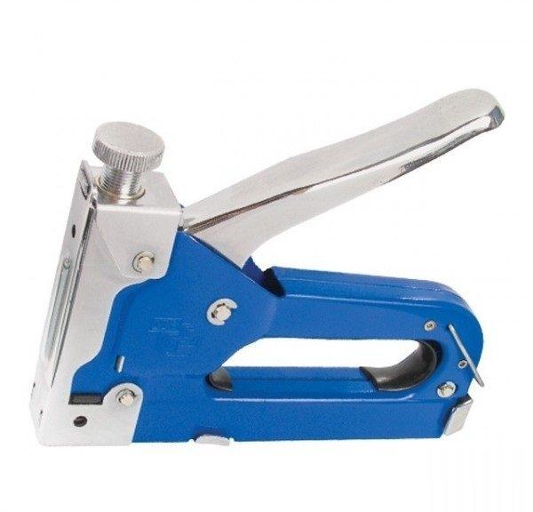 intertool Механический скобозабивной пистолет Intertool под скобу 11.3*0.7*4-14мм синий (RT-0101)