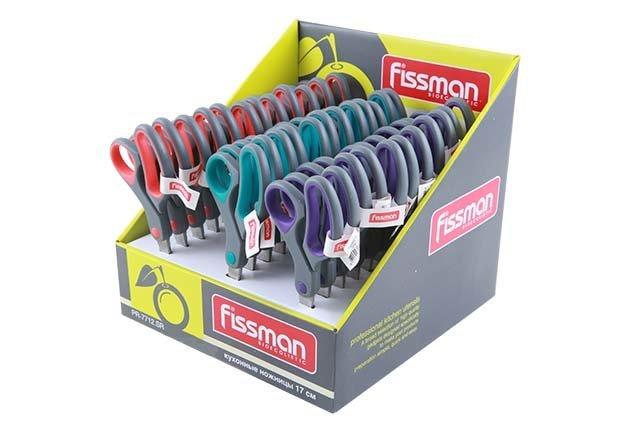fissman Ножницы кухоннные Fissman 17 см в ассортименте (PR-7712.SR)